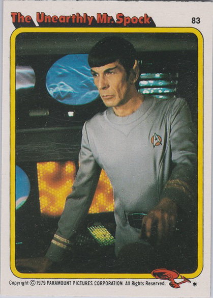 Topps Star Trek :TMP UK Edition 1979 #83