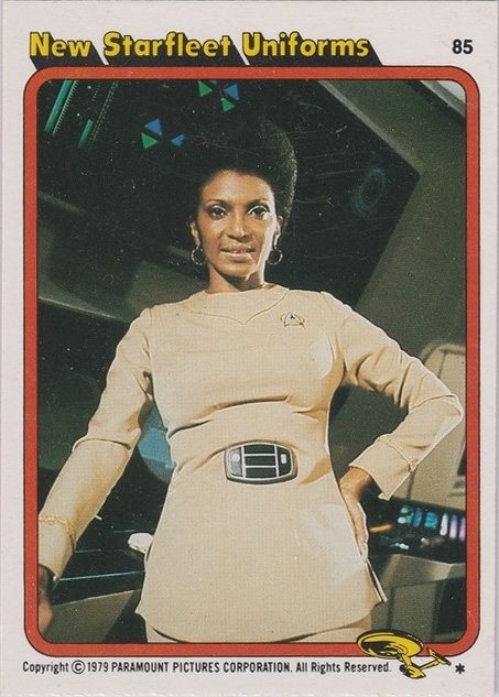 Topps Star Trek :TMP UK Edition 1979 #85