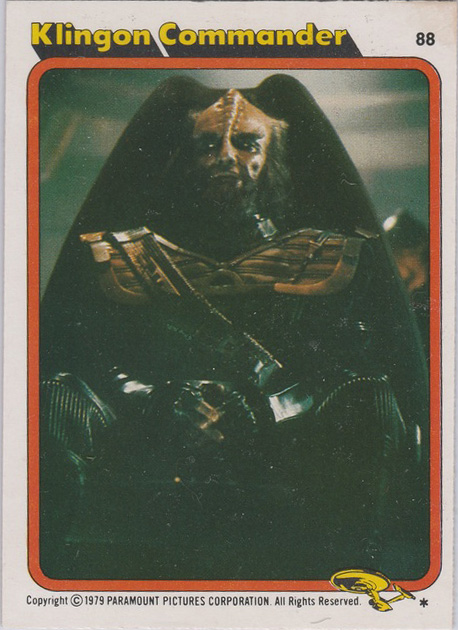 Topps Star Trek :TMP UK Edition 1979 #88