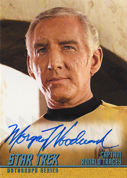 TOS Captain's Autograph A284 Morgan Woodward