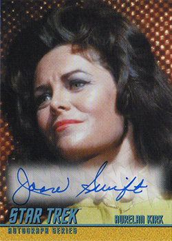 TOS Captain's Autograph A287 Joan Swift