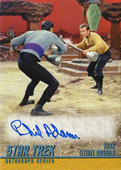 TOS Captain's Autograph A293 Phil Adams
