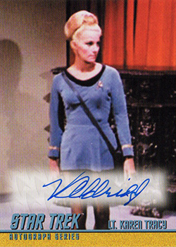 TOS Captain's Autograph A295 Virginia Aldridge