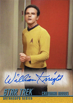 TOS Captain's Autograph A300 William Knight