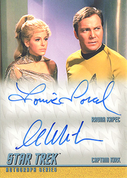 TOS Captain's DA36 Shatner and Sorel