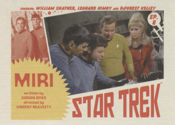 TOS Captain's Lobby Card 8