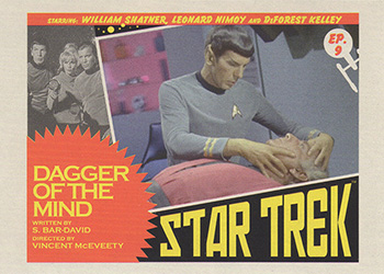 TOS Captain's Lobby Card 9