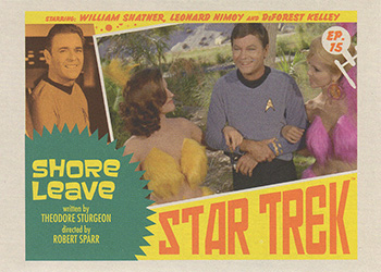 TOS Captain's Lobby Card 15