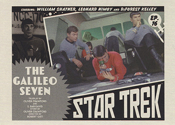 TOS Captain's Lobby Card 16