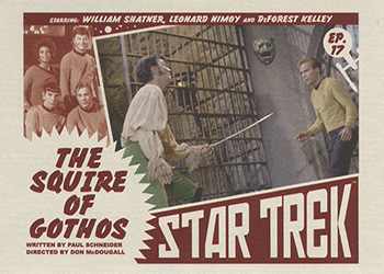 TOS Captain's Lobby Card 17