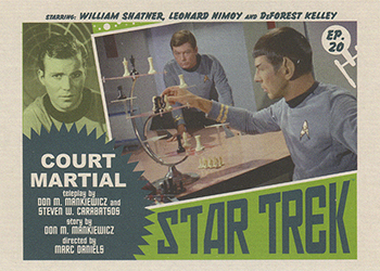 TOS Captain's Lobby Card 20