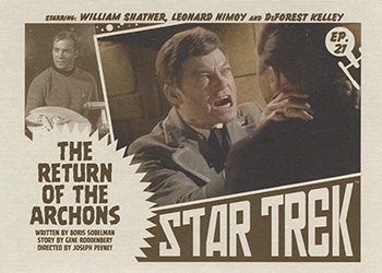 TOS Captain's Lobby Card 21