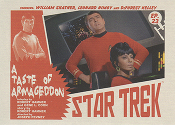 TOS Captain's Lobby Card 23