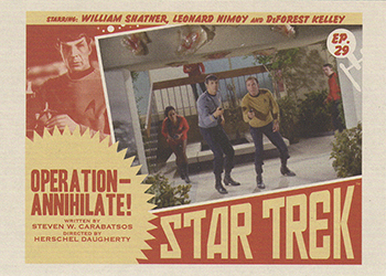 TOS Captain's Lobby Card 29
