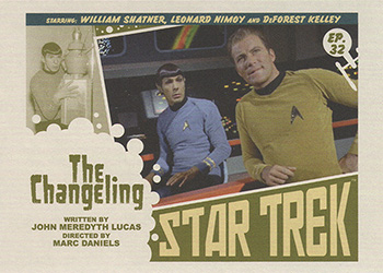 TOS Captain's Lobby Card 32