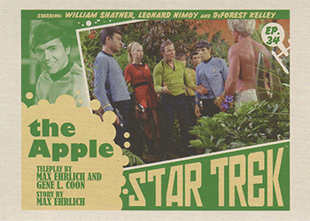 TOS Captain's Lobby Card 34