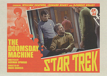 TOS Captain's Lobby Card 35