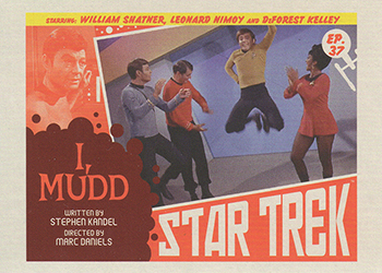 TOS Captain's Lobby Card 37
