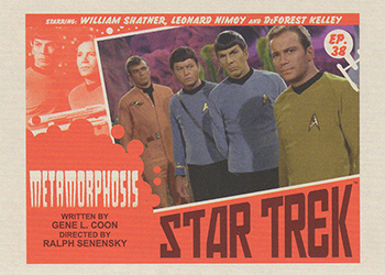 TOS Captain's Lobby Card 38