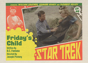 TOS Captain's Lobby Card 40