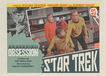 TOS Captain's Lobby Card 42