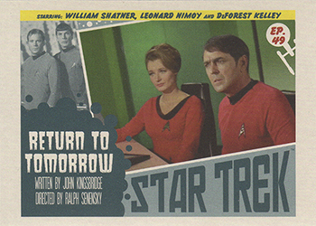 TOS Captain's Lobby Card 49