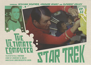 TOS Captain's Lobby Card 53