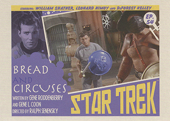 TOS Captain's Lobby Card 54