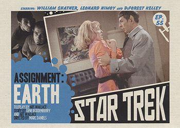 TOS Captain's Lobby Card 55