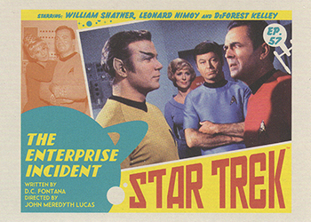 TOS Captain's Lobby Card 57