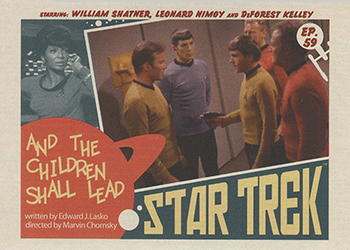 TOS Captain's Lobby Card 59