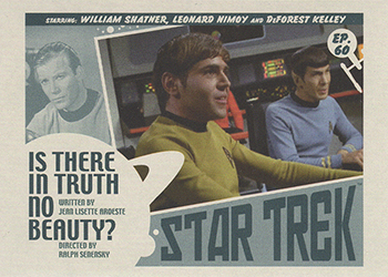 TOS Captain's Lobby Card 60