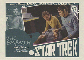 TOS Captain's Lobby Card 67