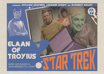 TOS Captain's Lobby Card 68