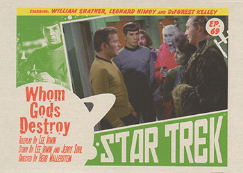 TOS Captain's Lobby Card 69