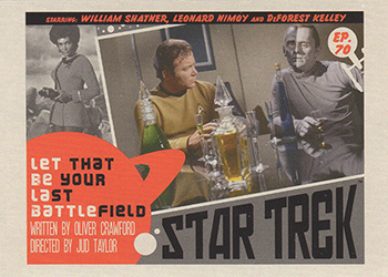 TOS Captain's Lobby Card 70