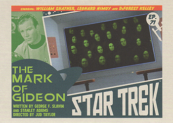 TOS Captain's Lobby Card 71