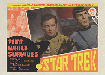 TOS Captain's Lobby Card 72