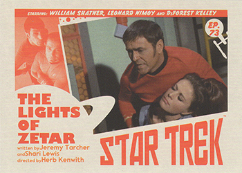 TOS Captain's Lobby Card 73