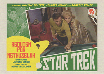 TOS Captain's Lobby Card 74
