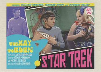 TOS Captain's Lobby Card 75