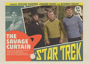 TOS Captain's Lobby Card 77