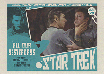 TOS Captain's Lobby Card 78