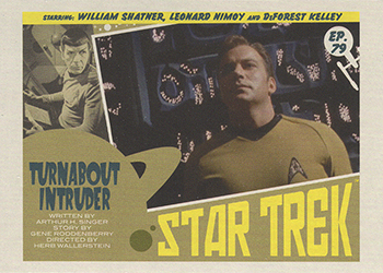 TOS Captain's Lobby Card 79