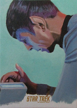 Kevin Graham TOS Captain's Sketch - Spock