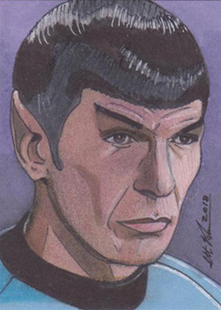Scott Houseman TOS Captain's Sketch - Spock