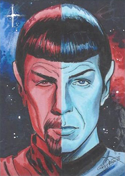 Andy Price Sketch - Spock