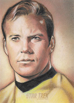 Huy Truong AR Sketch - James T. Kirk #1