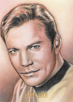 Huy Truong AR Sketch - James T. Kirk #2