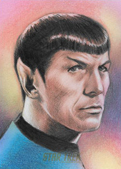 Huy Truong AR Sketch - Spock
